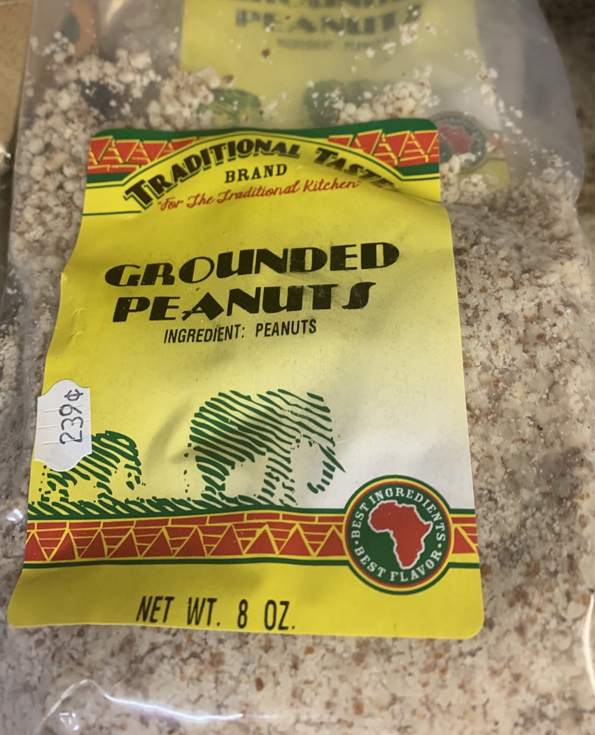 Ground Peanuts (8 Oz)