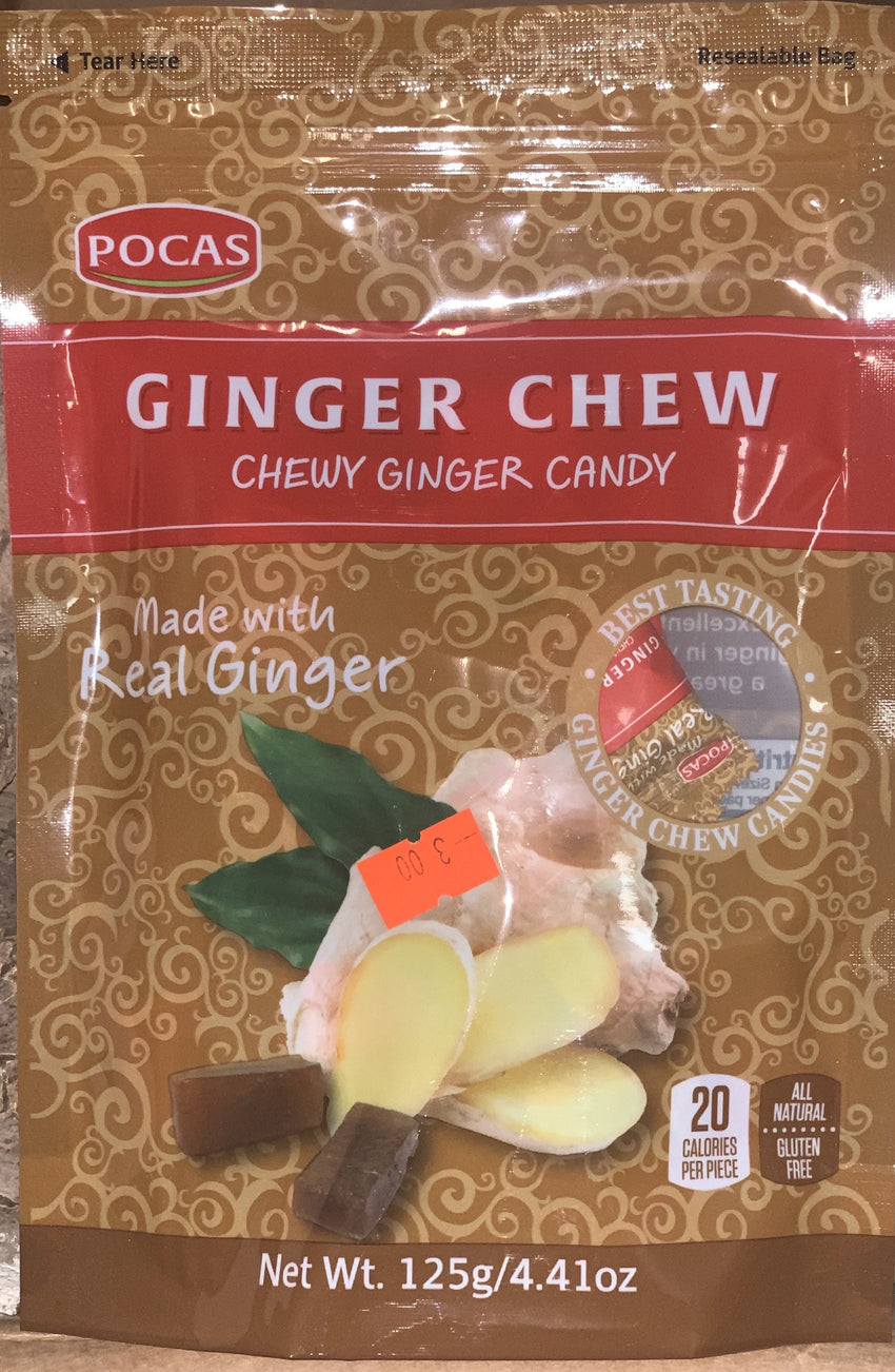 Ginger Chew Candy