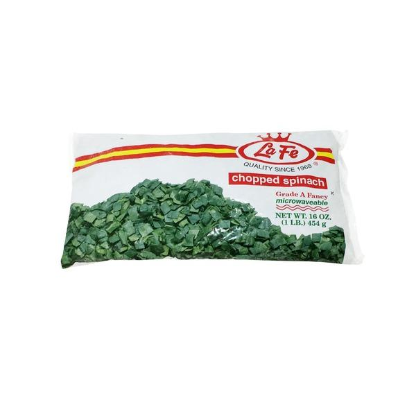 La Fe Chopped Spinach (2 Lbs)