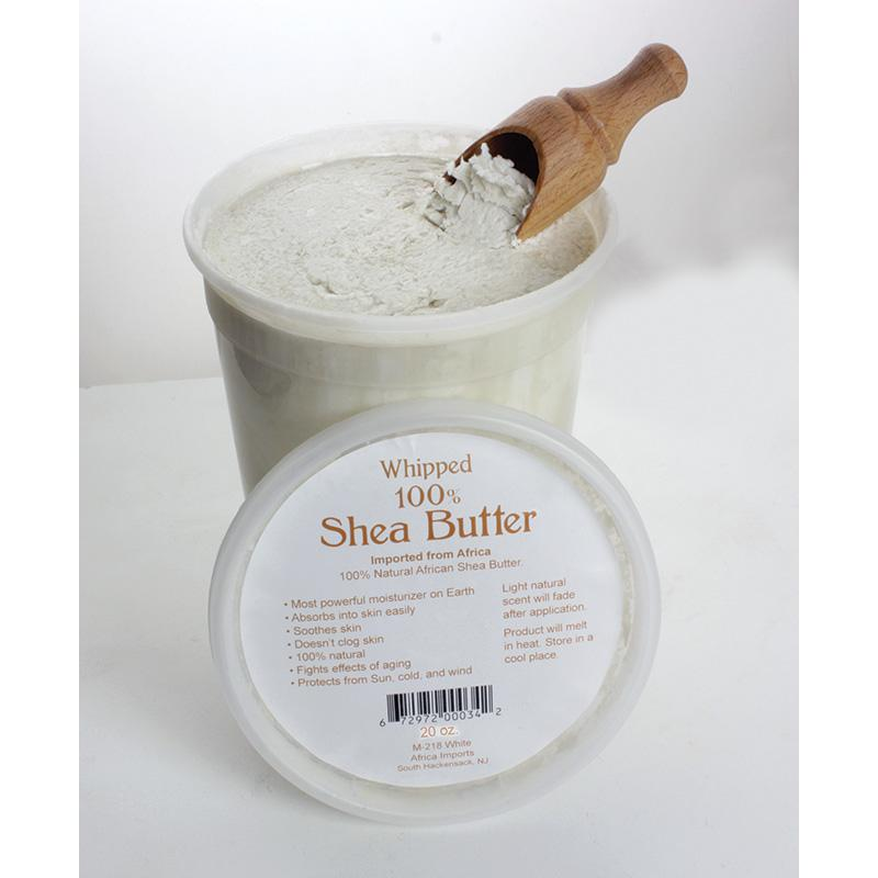 Whipped Shea Butter - 5 Oz. White African