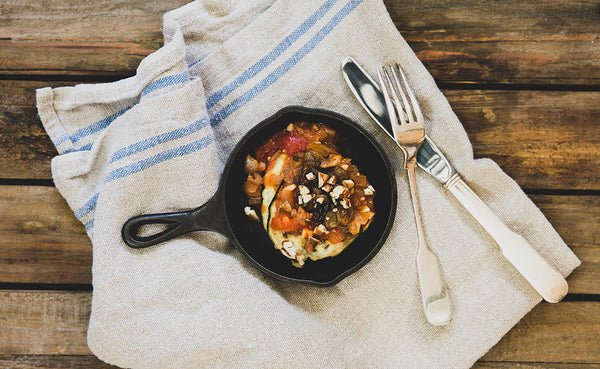 Matthew Register's Grilled Eggplant Caponata