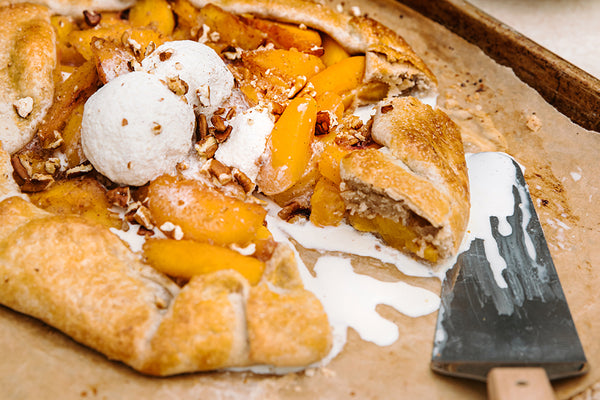 Peach & Pecan Crostata