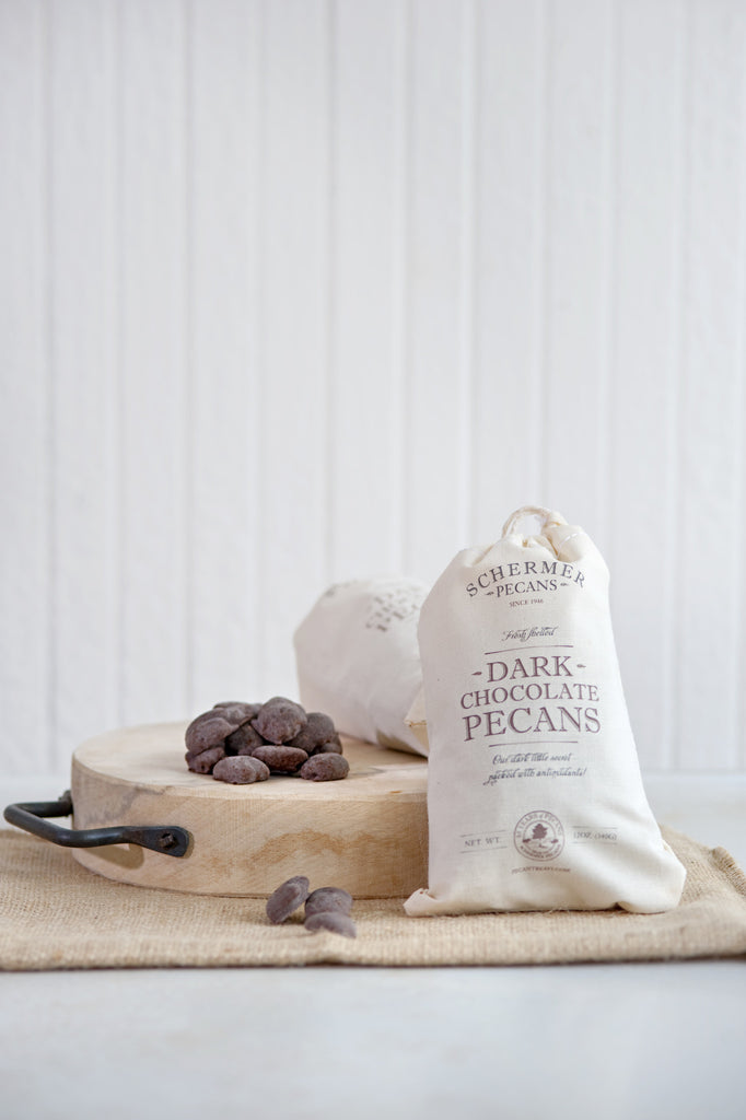 VALENTINE'S Dark Chocolate Pecans - SALE