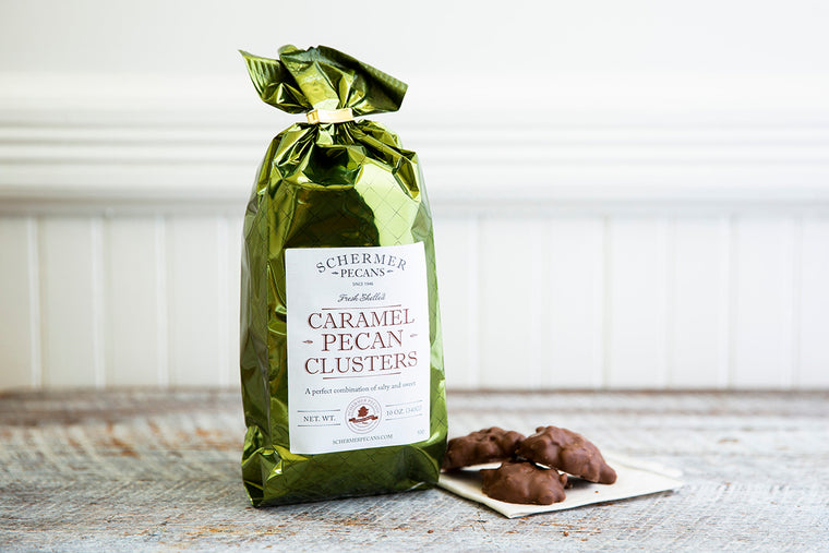 Caramel Pecan Clusters (24 x 10 oz Case) Fundraising Shipping Included