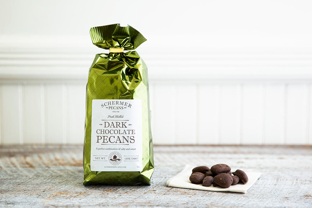 VALENTINE'S Dark Chocolate Pecans - CASE SALE