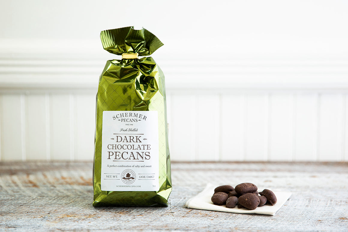 Dark Chocolate Pecans - Foil Bags Case