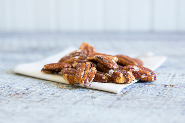 Glazed Pecans (24 X 8 oz Case) Fundraising Shipping Included