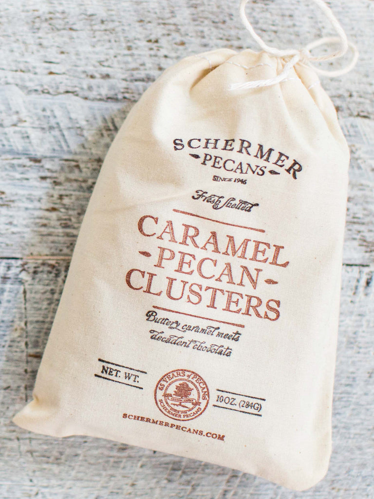 Pecan Caramel Clusters - Cloth Bags Case