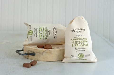 Large Natural and Chocolate Pecans