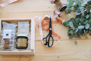 Hunt and Gather curated gift boxes corporate gifting, client gifting and wedding gifts. Located in Boise, Idaho
