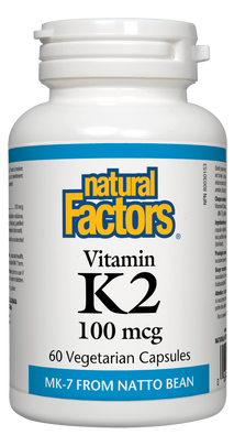 Natural Factors Vitamin K2 100 mcg | Your Good Health