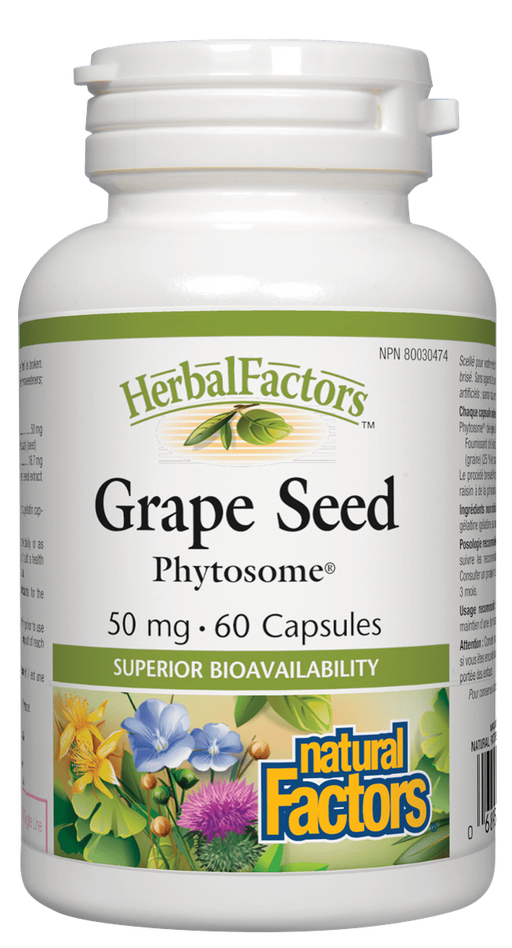 Natural Factors Grape Seed | YourGoodHealth