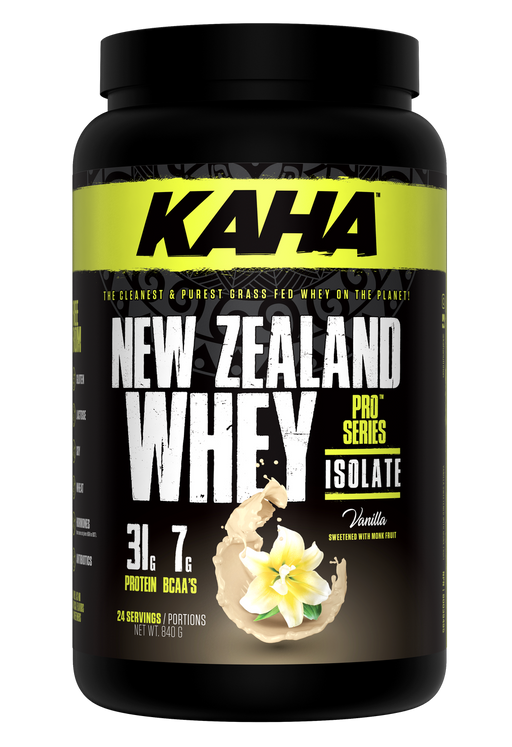 Kaha Nutrition New Zealand Whey Protein Vanilla 840g | YourGoodHealth