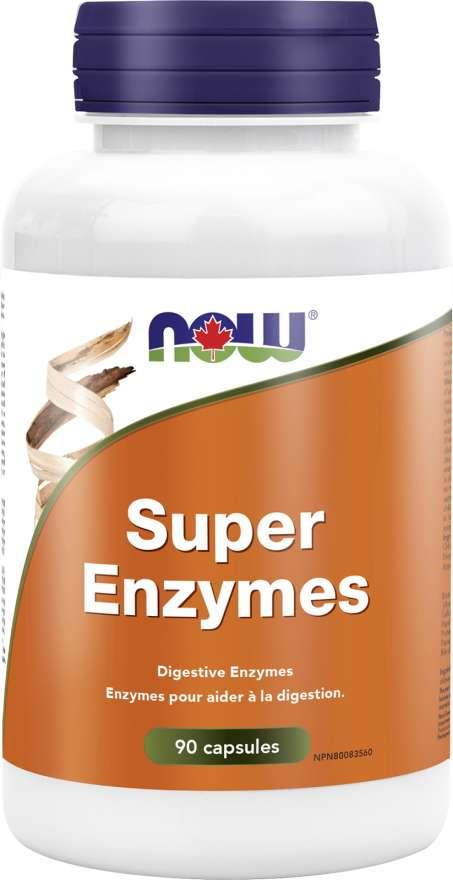 Now Super Enzymes Capsules 90 capsules | YourGoodHealth
