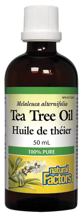 Natural Factors Tea Tree Oil 50ml | YourGoodHealth
