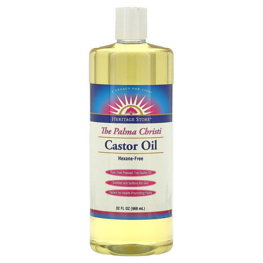 Heritage Castor Oil 32oz | YourGoodHealth