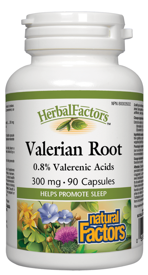 Natural Factors Valerian Root  | Your Good Health