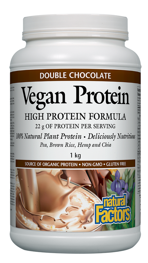 Natural Factors Vegan Protein Chocolate | YourGoodHealth