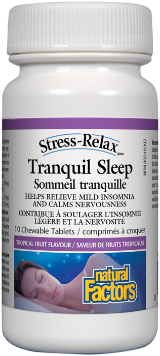 Natural Factors Tranquil Sleep | Your Good Health