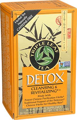 Triple Leaf Detox Herbal Tea | Yourgoodhealth