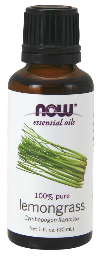 Now Lemongrass Oil 30ml | Your Good Health