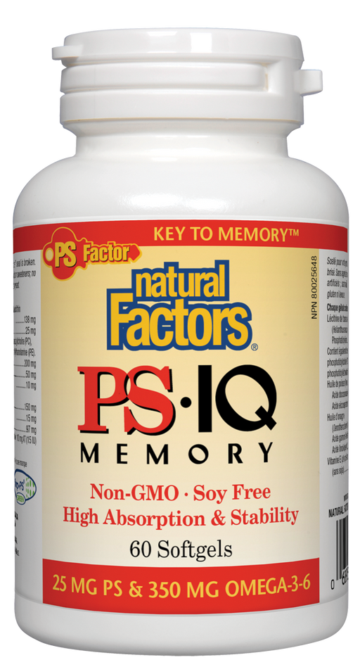 Natural Factors PS IQ Memory | YourGoodHealth
