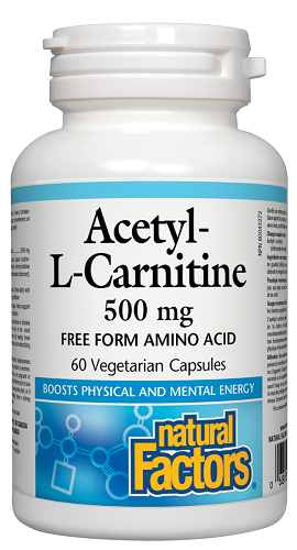 Natural Factors Acetyl-L-Carnitine  | YourGoodHealth
