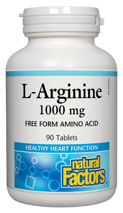 Natural Factors L-Arginine 1000 mg  | Your Good Health