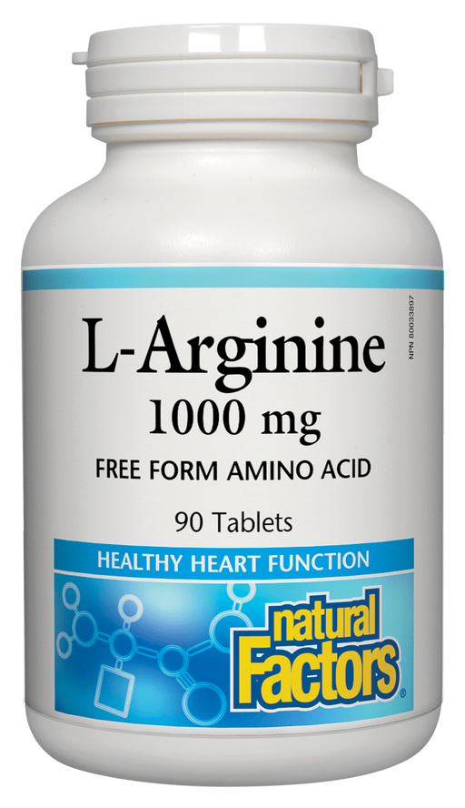 Natural Factors L-Arginine 1000 mg  | YourGoodHealth
