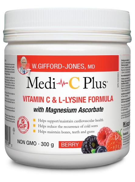 Medi-C Plus with Magnesium Berry 300g | YourGoodHealth