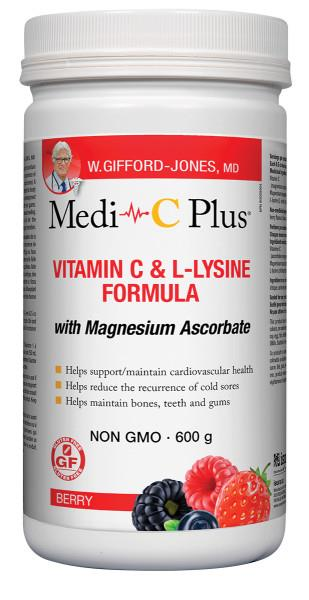 Gifford Jones Medi C with Magnesium Berry 600g | YourGoodHealth