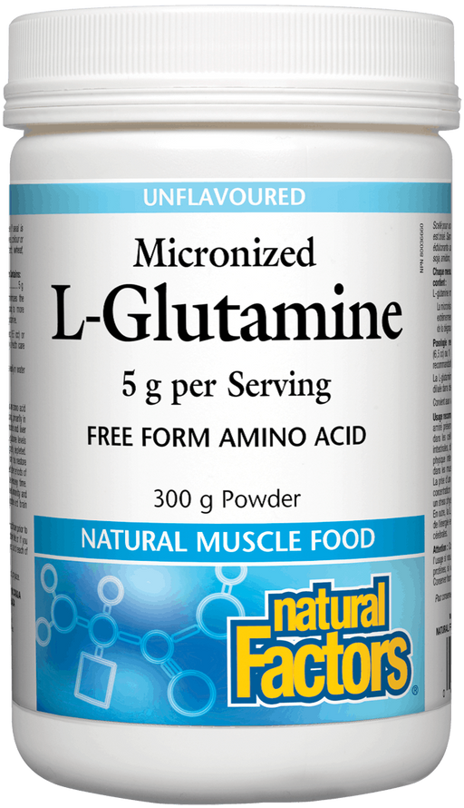 Natural Factors Glutamine Powder | YourGoodHealth