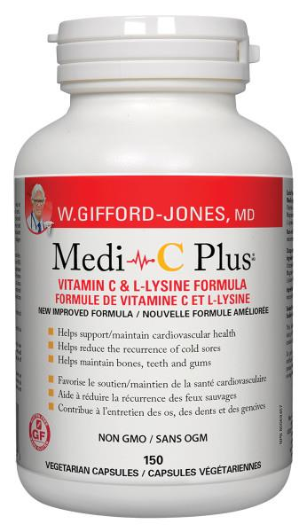 Gifford Jones Medi C Plus 150 capsules | YourGoodHealth