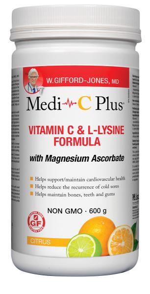 Medi C with Magnesium Citrus 600g | YourGoodHealth