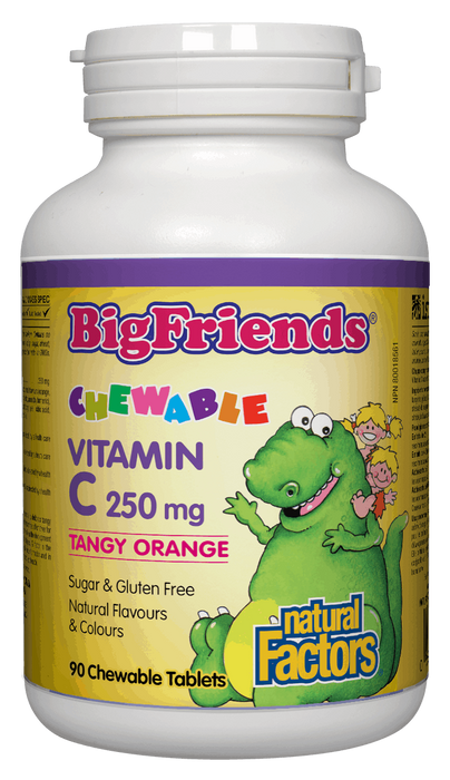 Natural Factors Big Friends Vitamin C | Your Good Health
