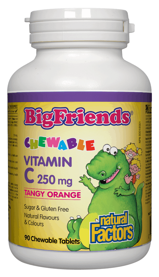 Natural Factors Big Friends Vitamin C | YourGoodHealth