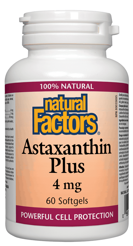 Natural Factors Astaxanthin Plus 4mg | YourGoodHealth