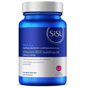 Sisu B12 5,000mcg 60 tablets | YourGoodHealth