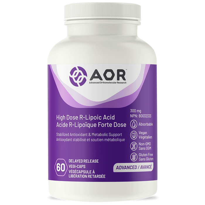 AOR R - Lipoic Acid High Dose 60 capsules | YourGoodHealth