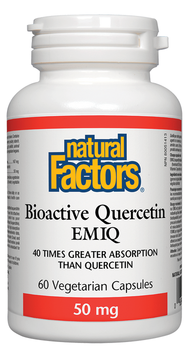 Natural Factors Bioactive Quercetin | Your Good Health