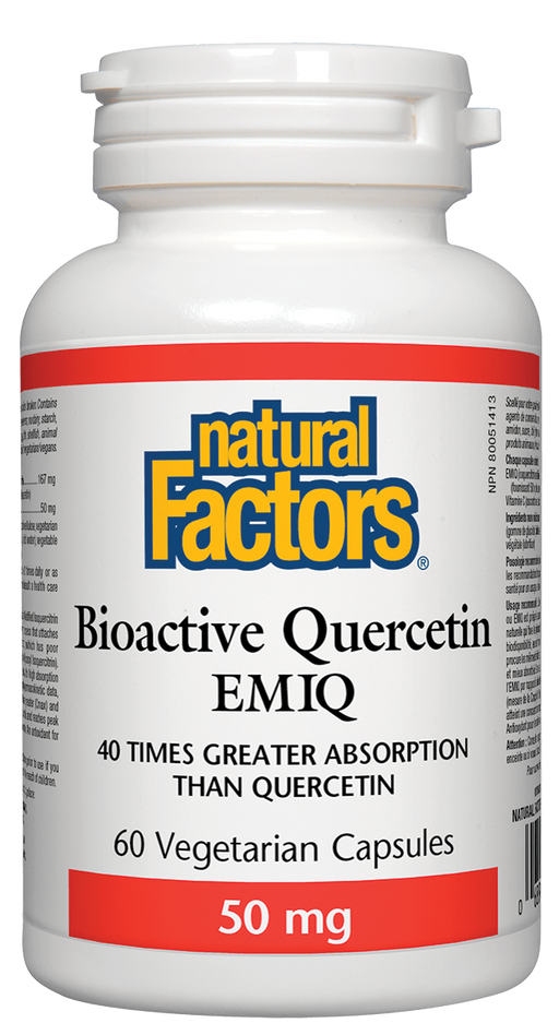 Natural Factors Bioactive Quercetin | YourGoodHealth