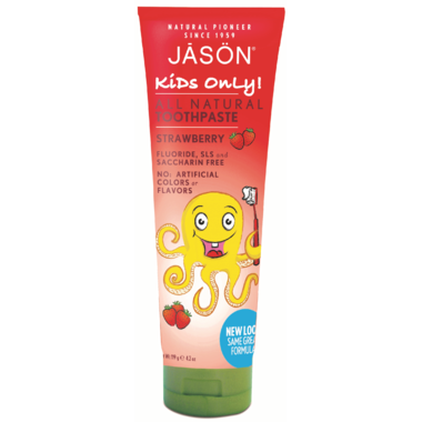 Jason Kids Toothpaste Only Strawberry | YourGoodHealth