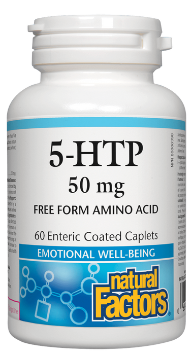 Natural Factors 5HTP 50MG | YourGoodHealth