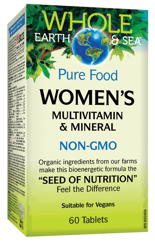 Whole Earth & Sea Women's Multivitamin 60 tablets | YourGoodHealth