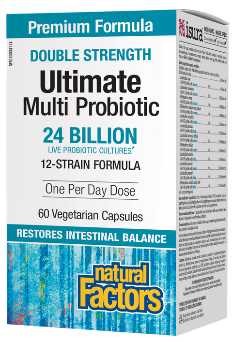 Natural Factors Ultimate Multi Probiotic | YourGoodHealth