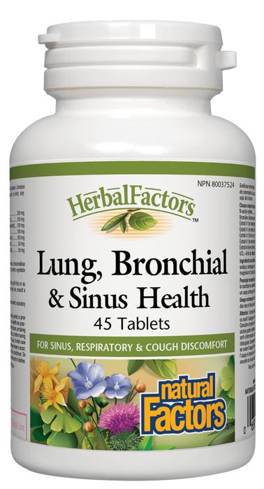 Natural Factors  Lung, Bronchial & Sinus Health | YourGoodHealth