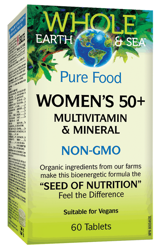 Whole Earth & Sea Women's 50+ Multivitamin 60 tablets | YourGoodHealth