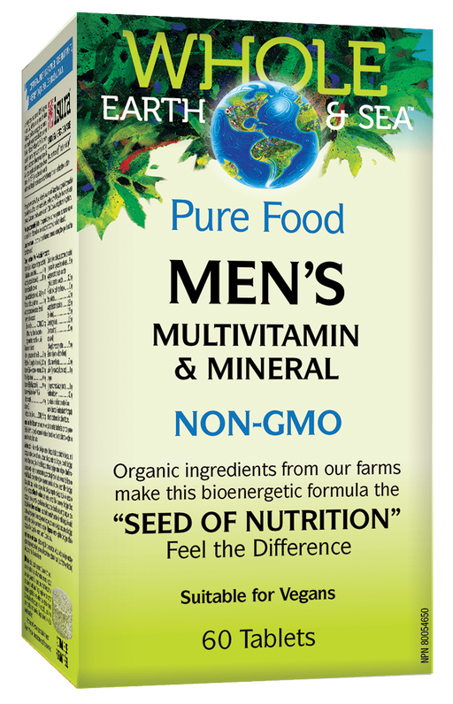 Whole Earth & Sea Mens Multi Vitamin 60 tabs | YourGoodHealth