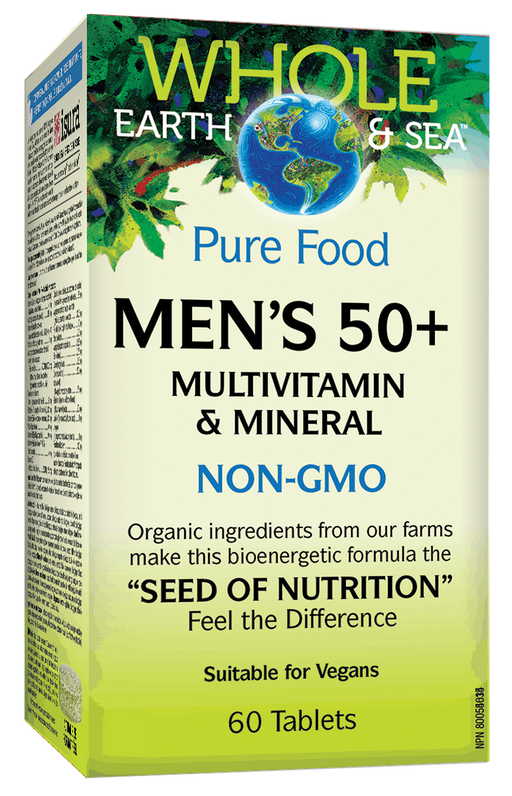 Whole Earth & Sea Mens 50+ Multi Vitamin 60 tablets | YourGoodHealth