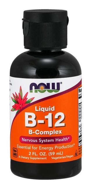 Now Vitamin B-12 Complex Liquid 2oz | YourGoodHealth
